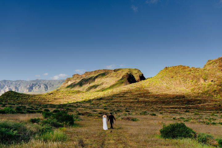 clientes fotografía documental de boda en las islas canarias